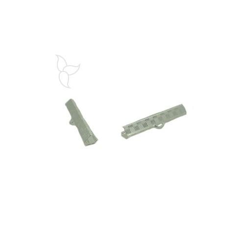 Tissu end clasp 40mm
