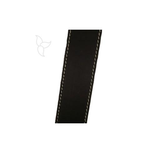 Lederband marone 30mm