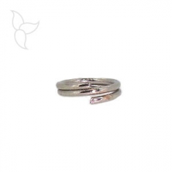 Double round ring 6mm