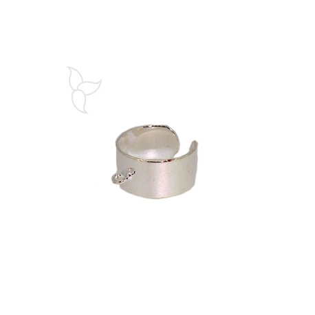 Adjustable ring with hanging ring