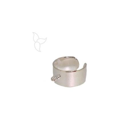 Bague reglable avec anneau