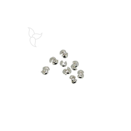 Open crimpbeads 2mm