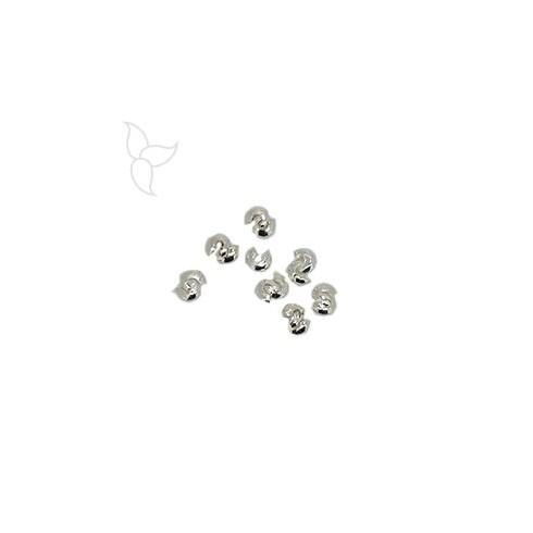 Perles a ecraser ouverte 2mm
