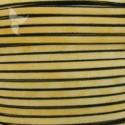 Cuero plano amarillo vintage 5mm