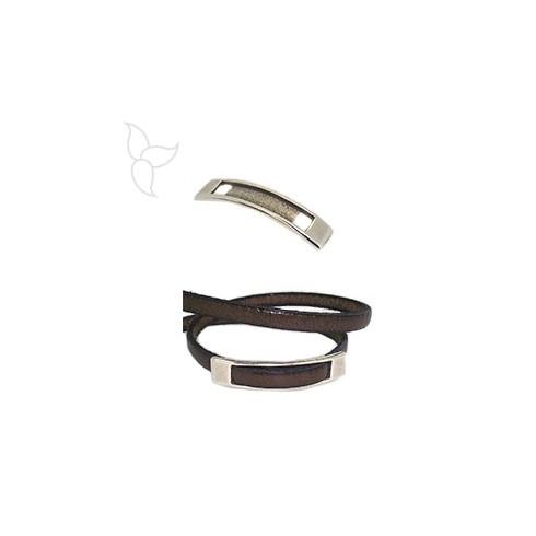 Slider plate leather 5mm