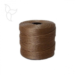 Fil nylon marron 0.6mm
