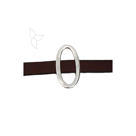 Passant grand rond cuir 10mm