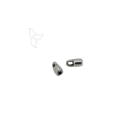 Embout tube cuir rond 2mm
