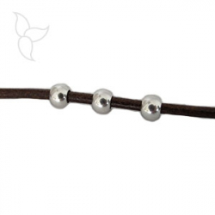Perles ronde trou 3.5mm