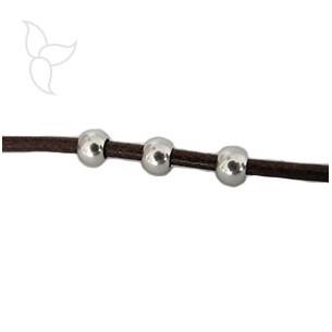 Round beads hole 3.5mm