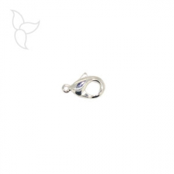 Lobster 22mm silver plated