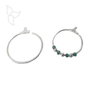Ring for earrings 30mm