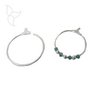 Ring for earrings 40mm