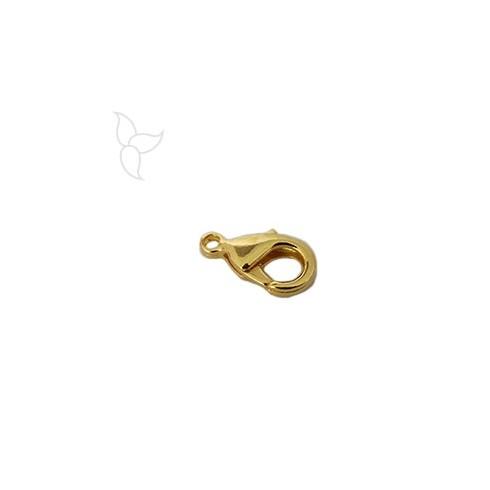 Mosquetone 15mm dorado