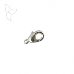 Lobster 11mm silver plated