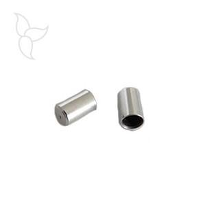Endkappe tube rund leder 4mm
