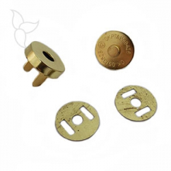 Magnetic button 18mm golden
