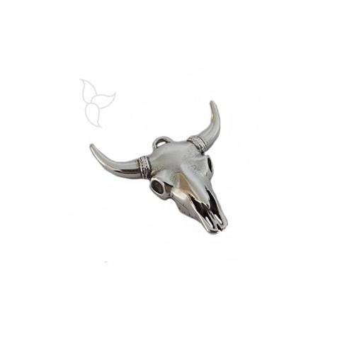 Pendentif grosse tête de taureau