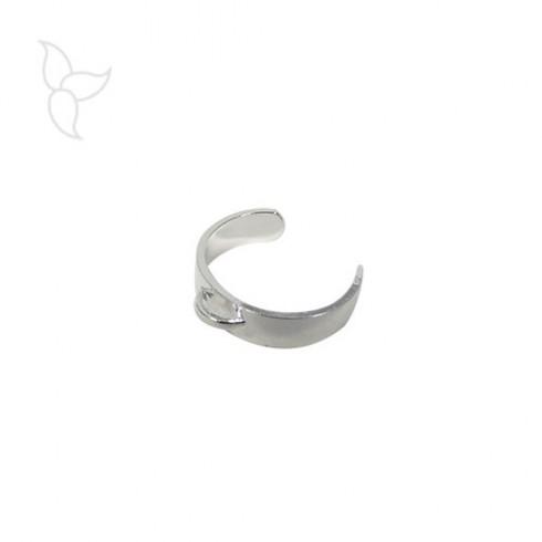 Bague reglable avec anneau taille enfant