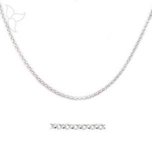 Silber Ketten Jaseron kleine Netz 2 mm