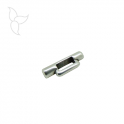 Cylindric slider for flat leather 3 mm