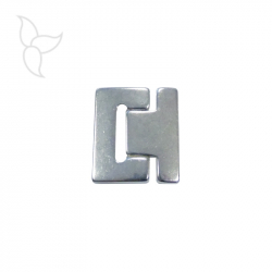 Buckle clasp flat leather 40mm