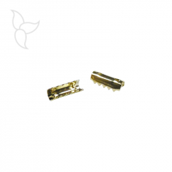 Crimp terminal 10mm gold color