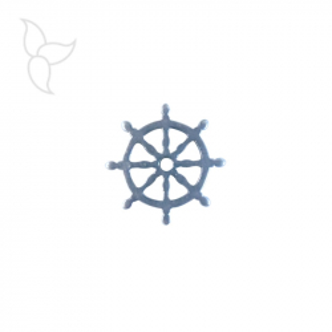 Connecteur ou pendentif gouvernail
