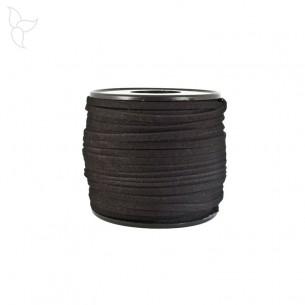 Lacet de suede noir