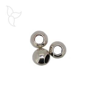 Perles ronde trou 5mm