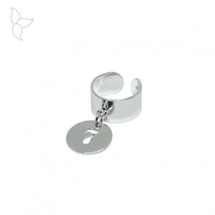 Silber Plattierung Anhänger Nummer Medaillen 16 mm