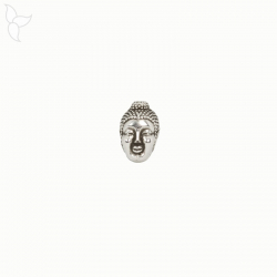 Bead or slider Bouddha head for 1mm cords