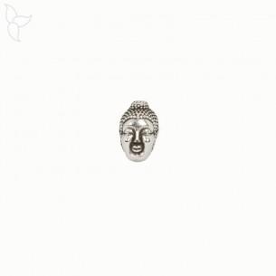 Perle ou passant tête de Bouddha pour cordons 1 mm