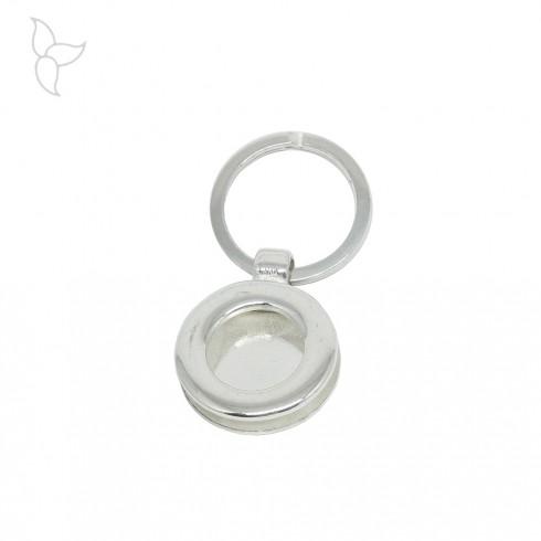 Round keyring ring