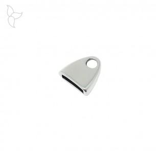 Embout simple pour cuir plat 10mm