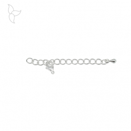 Silvery extension chain