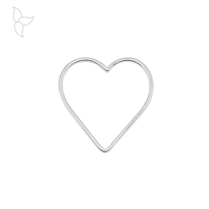 Outlines heart pendant