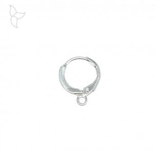 Anneaux type créoles pour boucle d'oreille 12 mm