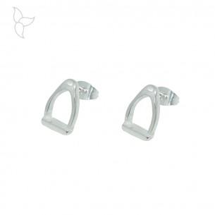 Steigbügel -Ohrringe