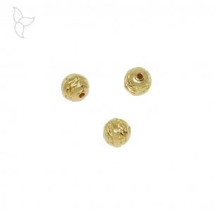 Perles ronde 8.5 mm trou 1.9 mm
