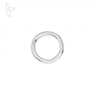 Anilla redonda ligeramente irregular de 34 mm