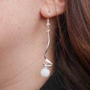 Spiral Earring Frame