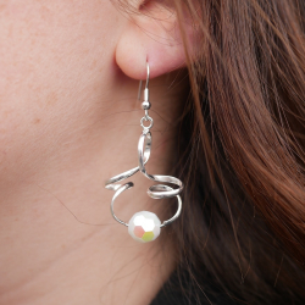 Monture pour pendentif perle en spirale