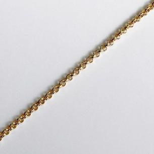 Very thin bolo chain gold color