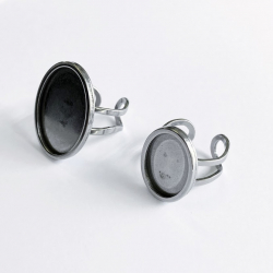 Stainless steel ring mount