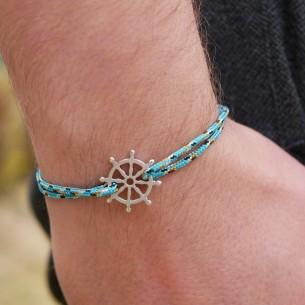 Customizable cord bracelet