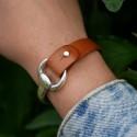 Lanière noire prête pour bracelet