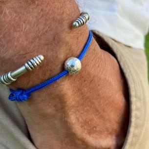 Perle 10mm Fussball Silber furniert 10µm verkauft im 10er-Pack