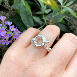 """""""Rose"""" chain ring"""