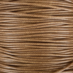 Waxed cotton thread 2.5 mm in diameter, delivered by 3 meters.